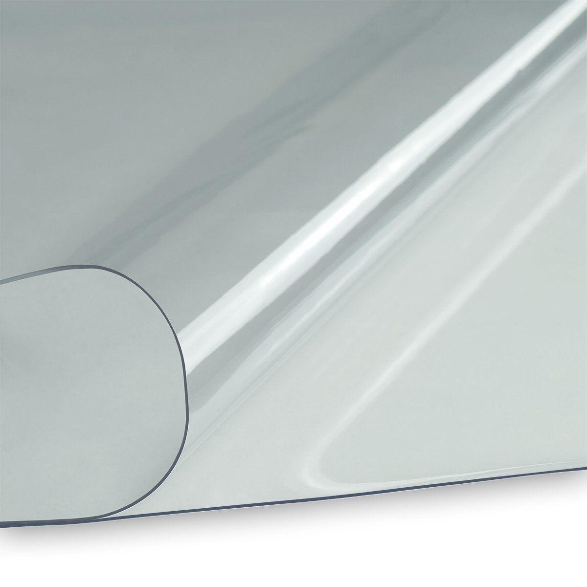 7,19€//m² PVC Folie klar transparent durchsichtig Fensterfolie Virenschutz Plane