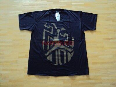 Original Nike Air Jordan Ix Black Olive Sneaker T-shirt Neu Xl 2001 Sammlerstück Hochwertige Materialien