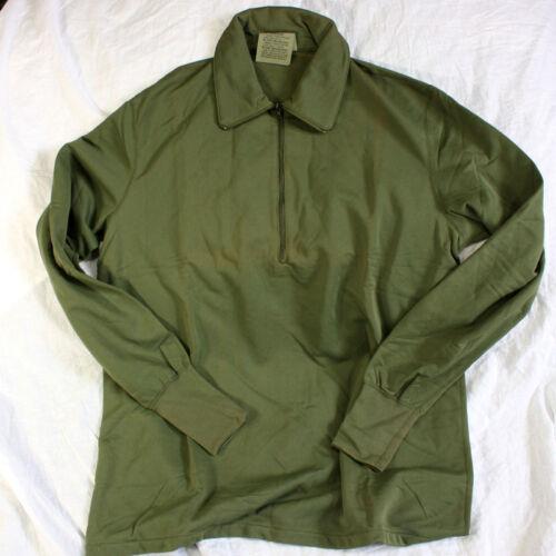 Military Issue Sleeping Shirt Heat Retent Moisture Resist 8415-00-890-2100 Sz S