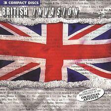 British Invasion [Madacy] [Box] by Various Artists (CD, 2000, 3 Discs, Madacy)