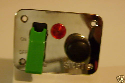 12v  Ignition Switch Panel Push Button Start Motorsport Toggle Switch Cover