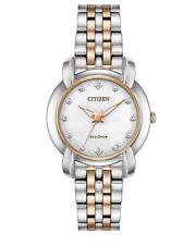 Citizen Eco-Drive Jolie Women's Diamond Accents 30mm Watch EM0716-58A