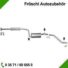 Mazda 3 1.4 1.6 16V 84PS 105PS Auspuff Auspuffanlage Abgasanlage Rohr Anbaukit