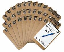 Mini Clipboard 6 X 9 Set Of 30 Memo Clipboard Small Clipboard Eco Frien