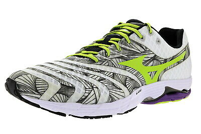 mizuno mens running shoes size 9 youth gold white jogger black