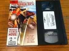 Item 1 2004 VHS Movie 587 THE GREAT TRAIN ROBBERYRan Burns Nick Abeel Ariadne Baker
