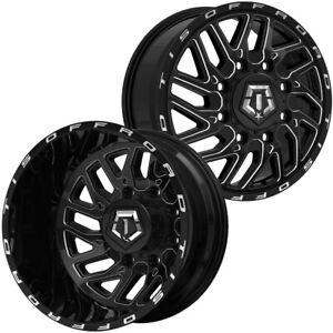 127mm Black Wheel Rim 20 Inch TIS 544BM Dually Inner 20x8.25 8x210