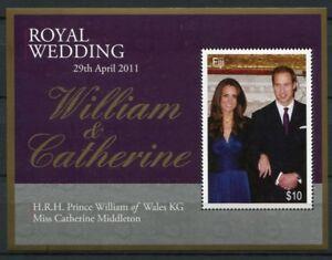 Fidschi-Fiji-2011-Kgl-Hochzeit-Royal-Wedding-Prinz-William-Kate-Royalty-MNH