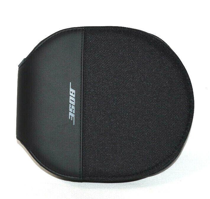 Bose Headphone Case Travel Storage Bag Only Headset Holder Black Zipper