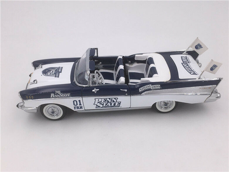 Danbury Comme neuf 1 24 Chevrolet Bel Air 1957 Penn State Nittany Lions U équipe voiture