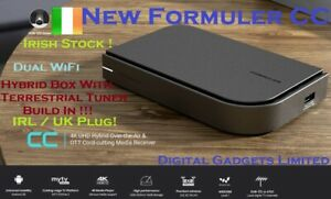 Formuler CC UHD 4K Premium Hybrid Android IPTV Box 4K Dual WiFi, MAG322