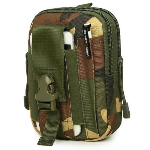 Outdoor Sport Running Tactical Waist Tactical Camping Military Army Bag Pouch