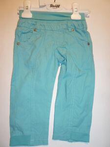 SO-16-Steiff-Little-teddybaer-Pantalon-turquesa-talla-74-80