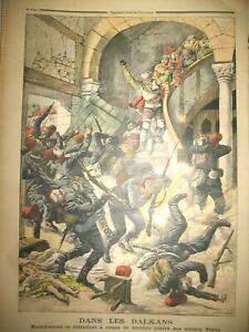 BALKANS-MACEDONIENS-ET-SOLDATS-TURCS-BRETAGNE-TREGUIER-RENAN-PETIT-JOURNAL-1903