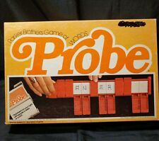 Vintage PROBE word guessing game, Parker Brothers, 1977 (m)