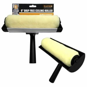 Large-9-034-Ceiling-Anti-Non-Drip-Painting-Paint-Decorating-Roller-Guard-Brush-Tool