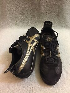 premium selection 6d8e9 6a90a Details about Onitsuka Tiger HL8B4 Mini Cooper Limited Edition Black/gold  Shoes Men's 9