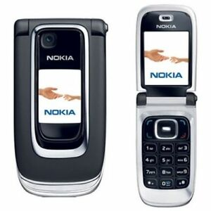Nokia Flip Phone >> Nokia 6131 Black Flip Phone Big Button Big Screen Cellular Phone