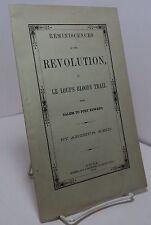Reminiscences of the Revolution by Arthur Reid - 1859 - green cover variant-pwe6
