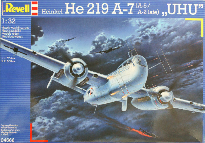 Revell 1 32 He 219 A-7 (A-5 A-2 late)  UHU