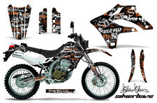 KAWASAKI KLX 250 Graphic Kit AMR Racing Decal Sticker Part KLX250 04-07 S.HAZE O