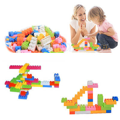 New 144pcs Plastic Building Blocks Kids Toy Children Puzzle Educational Toy