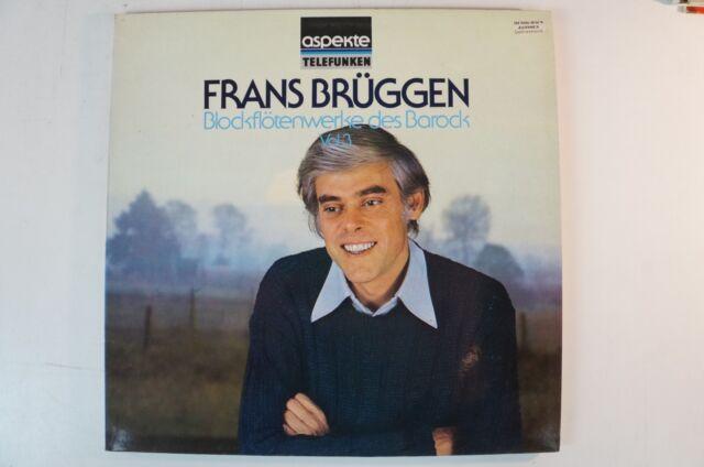 Frans Brüggen Blockflötenwerke des Barock Vol 3 Telefunken 6.42324 AH  LP37a