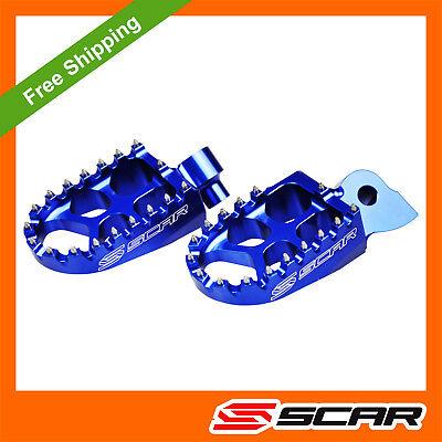 KTM SXF 250 350 450 16 17 18 19 Rear Brake Gear Lever ProBite Footpegs Blue Pegs
