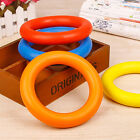 Rubber Ring Pet Dog Puppy Cat Dental Teething Healthy Gums Clean Chew Play Toys