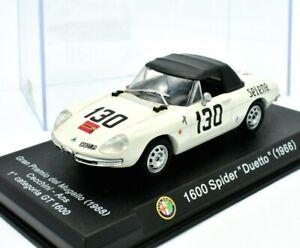 Modellauto-Auto-Alfa-Romeo-Spider-Duetto-modelle-1-43-diecast-Modell-automodell
