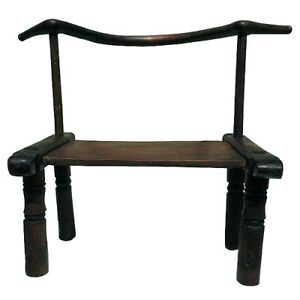 an old antique african chair we tribe from the ivory coast