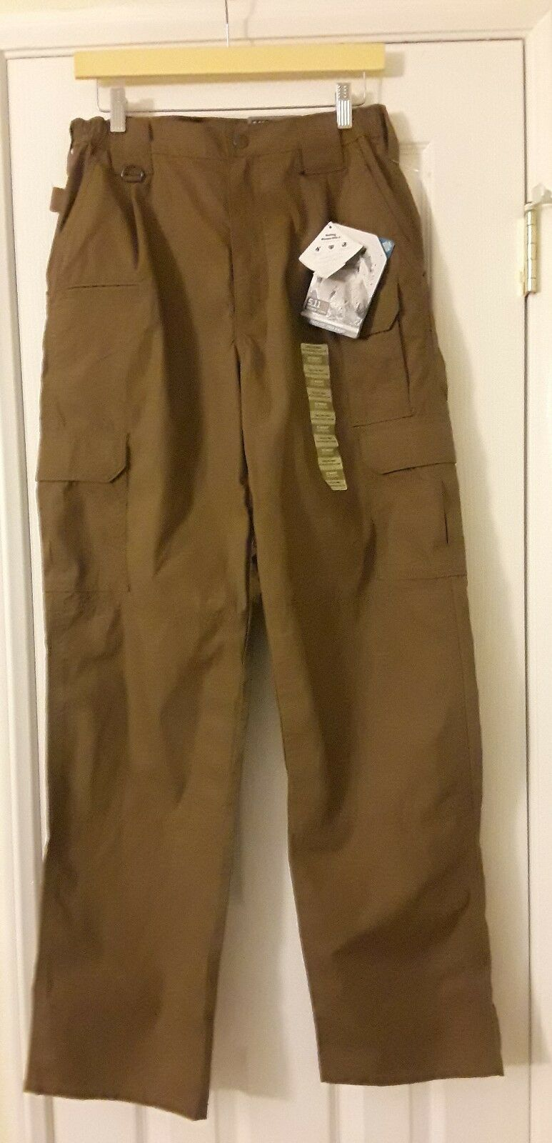 Men 5.11 Tactical Series Taclite Pro Pants Brown 32X34
