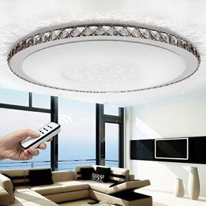 Détails sur LED Cristal Design Plafonnier / Suspension Luminaire de Salle  Bain Interrupteur