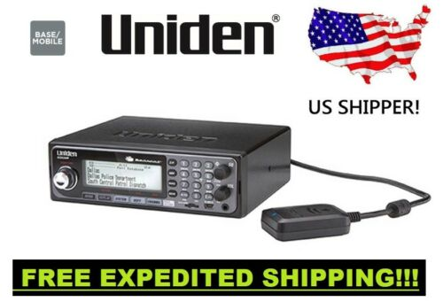 Uniden BCD536HP Digital Phase 2 Base//Mobile Scanner with HPDB and Wi-Fi