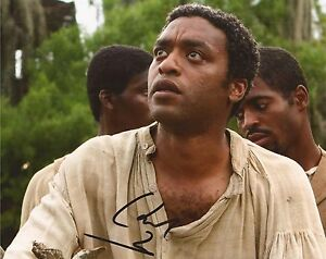12-YEARS-A-SLAVE-CHIWETEL-EJIOFOR-039-SOLOMON-NORTHUP-039-SIGNED-10x8-PHOTO-COA