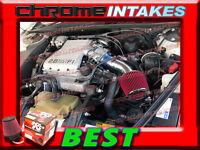 K&n+blue Red 88 89 90-94 Chevy Cavalier Z24 2.8 2.8l/3.1 3.1l V6 Air Intake Kit