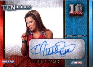 TNA-Mickie-James-2012-TENacious-GOLD-Authentic-Autograph-Card-SN-33-of-100