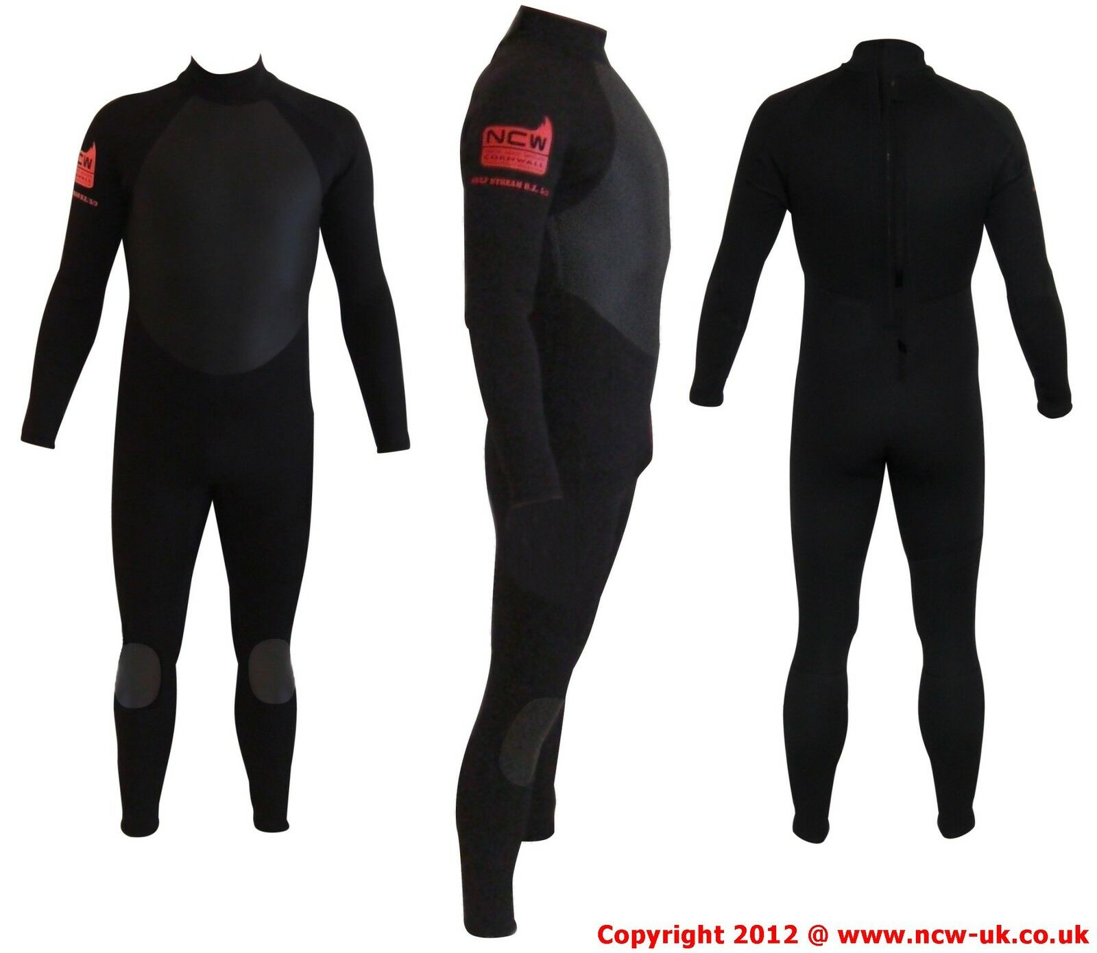 N.C.W. Full winter steamer 5 3 surf wetsuit. GBS hot melt taped seams. Any Size