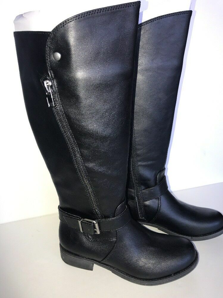 Falls Creek ALLIE Black Fashion Boots Womens US Size 8M   New In Box