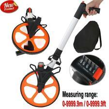 Foldable Distance Measuring Wheel 0 99999ft Measure Surveyors Road Land