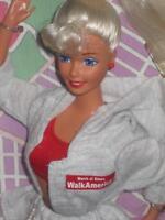 Mattel Barbie March Of Dimes Walk America. 1997 Toys