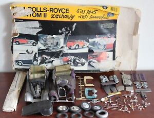 ORIGINAL-1-24-1934-ROLLS-ROYCE-PHANTOM-II-MODEL-KIT-PARTS-ONLY
