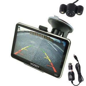 XGODY 5'' 560 8GB GPS SAT NAV Navigation Bluetooth FM with