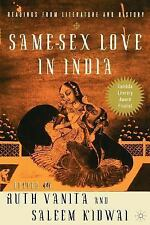 Same-Sex Love in India : Readings from Literature and History by Ruth Vanita...