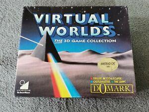 Amstrad cpc Disquette 6128  / VIRTUAL WORLDS / DOMARK
