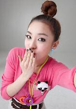 NEW Cute Korean Kpop Band 2NE1 Dara Blue Heart Blood Stud Earrings