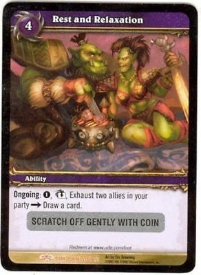Goblin Gumbo Loot Card UNSCRATCHED World of Warcraft TCG