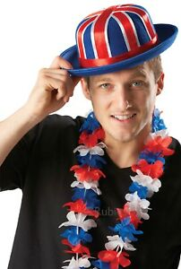 Ladies-Mens-Unisex-Union-Jack-British-Flag-Party-Lei-Garland-Fancy-Dress-Costume