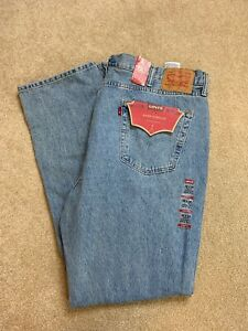 Levi-039-s-Men-039-s-Jeans-42-x-36-541-Athletic-Fit-Straight-Leg-Medium-Wash-Blue-Denim