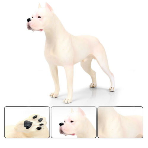 Hunter Dogo Argentinos Dog Pet Animal Figure Model Toy Collector Decor Kid Gift